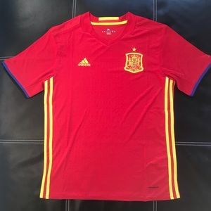 Adidas Spain national team soccer jersey